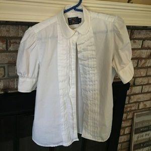 American Living Vintage Peter Pan Collar Shirt
